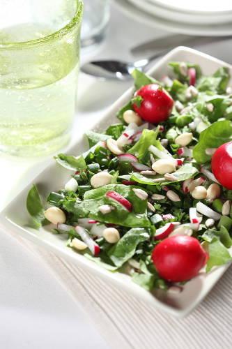Salat mit wenig Kohlenhydraten