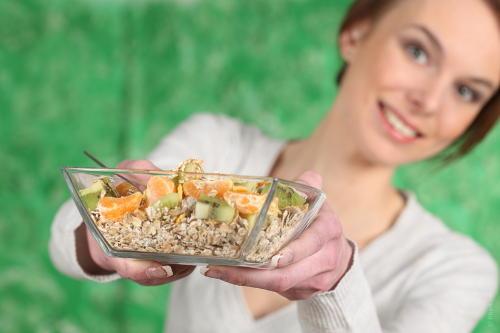 Haferflocken-Diät